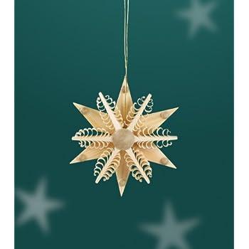 Baumbehang Sonne 7,5 cm Christbaumschmuck Erzgebirge NEU Seiffen Weihnachten