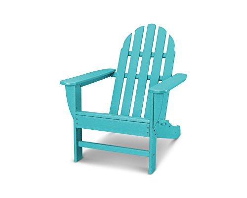 POLYWOOD AD4030AR Classic Outdoor Adirondack Chair, Aruba