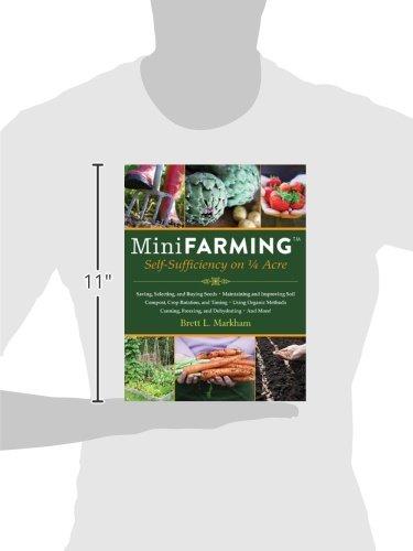 41itV oZ4qL. SL500  - Mini Farming: Self-Sufficiency on 1/4 Acre