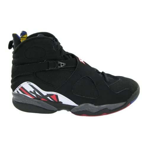 best service 0f082 c8a97 Amazon.com   Nike Mens Air Jordan 8 Retro Playoff Black Varsity Red Leather  Basketball Shoes Size 9.5   Basketball