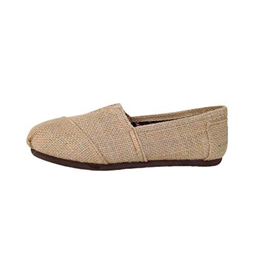 Dooxii Unisex Hombre Mujer Ocasionales Loafer Zapatos Moda Planos Alpargatas