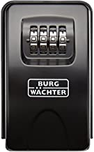 Burg-WÄCHTER Key Safe with Combination of Numbers, KeySafe 20 SB, Black