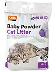 Karlie Katzenstreu Babypuderduft 15 kg