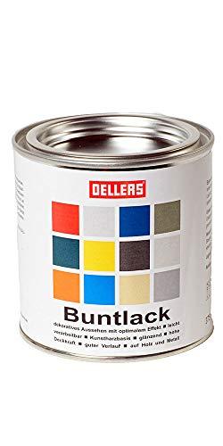 Buntlack | innovative Farbtöne |Metallfarbe für kreative Trends auf Holz und Metall | leichte Verarbeitung | wunderschöne Farbgestaltung mit Rostschutzfarbe (375 ml, RAL 7016 Anthrazit)