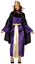 Ladies Evil Queen Fairy Tale Story TV Book Film Halloween Fancy Dress Costume Outfit (UK 14-16)