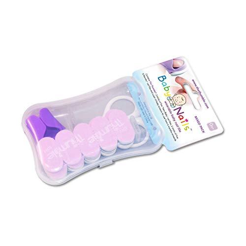 Baby Nails - Nagelpflege für Babys I Handfreies Babypflege-Set für Neugeborene ab 0 Monate I Geschenkidee für werdende Mütter I Sparpackung – 30 Einwegfeilen