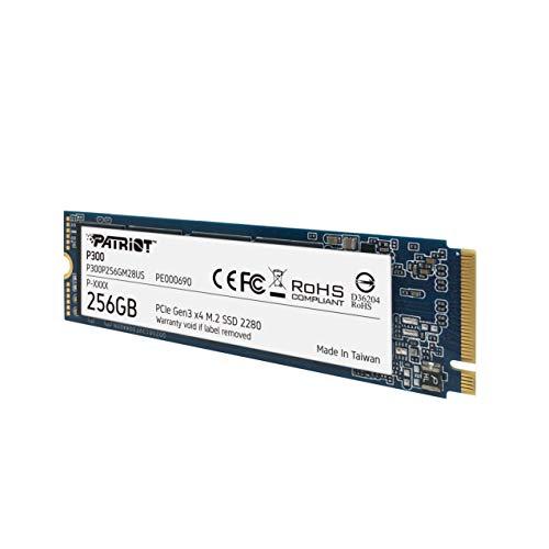 Patriot P300 M.2 PCIe Gen 3 x4 256GB SSD de bajo Consumo: Amazon ...