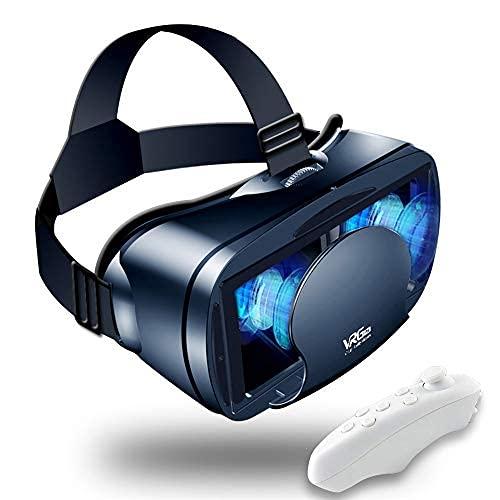 VR AURICULARIO DE REALIDAD VIRTUAL GOBALLOS Compatible con iPhone y Android Nuevas gafas para películas Compatible 5-7inch Soft ...