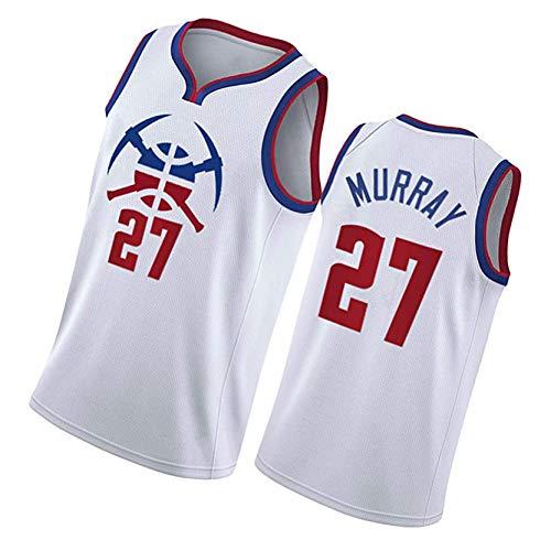 Denver Nuggets15# Nikola Jokic, 27# Jamal Murray Basketball Swingman Jersey Camiseta, Uniforme De Secado Rápido Y Transpirable NO.27-S