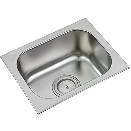 Anupam Stainless Steel Single Square Bowl Kitchen Sink