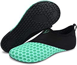 Barerun Barefoot Shoes for Water Sport Beach Pool Camp Blue 6.5-7.5 B(M) US