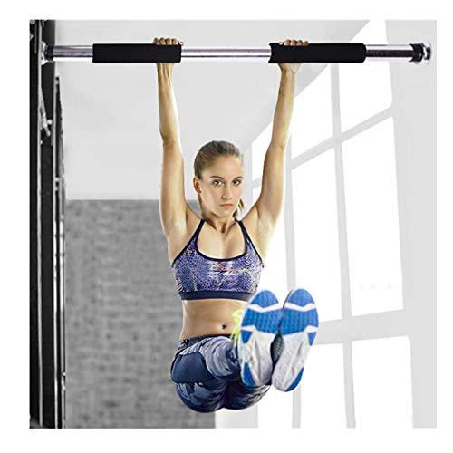 squarex ® Horizontal Bar Indoor Klimmzugstange Türstange Workout Bar Home Übung Fitness Horizontal Bar (Schwarz)