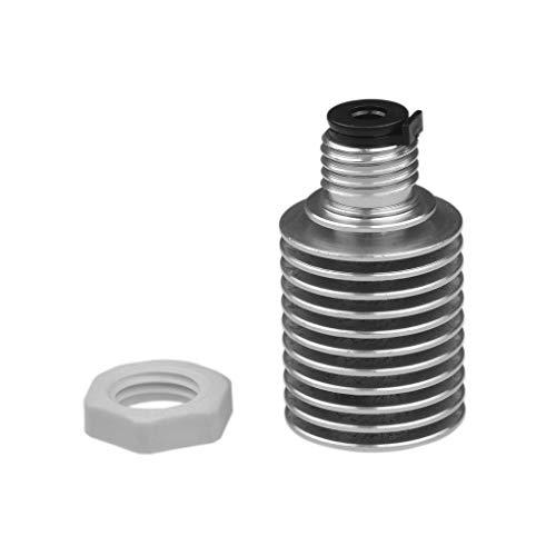 teng hong hui 3D Printer Radiator Metal Heat Sink Radiator Metal 3D Plastic Nut 3D Printer Accessory Replacement for E3D-V6, Heat Sink, Nut