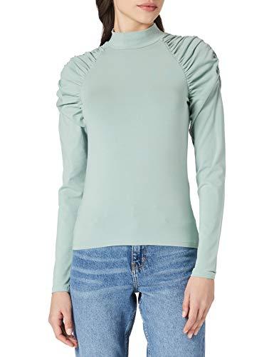 Only ONLDELIA Life L/S Short Top JRS Pullover, Jadeite, XL para Mujer