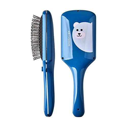 Crazyfly Peine masajeador para el cuero cabelludo, masajeador de cabeza portátil, peine de masaje de metal para mujeres en el hogar al aire libre