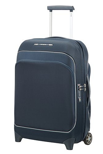 SAMSONITE Fuze - Upright 55/20 Expandable Bagaglio a mano, 55 cm, 35 liters, Blu (Blue Nights)