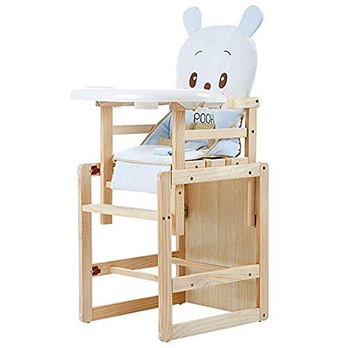 ZHPBHD Baby- / Kinder-Kombi-Hochstuhl, Umwandelbarer Baby-Hochstuhl Mit Fütterung, Kissen, Tablett Und Dreipunkt-Sicherheitsgurt (Style : Style 6)