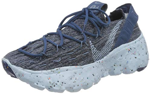 Nike Space Hippie 04, Zapatillas de Gimnasio Mujer, Mystic Navy Chambray Blue Coastal Blue, 38 EU