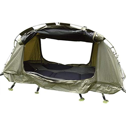 no-logo Winter Tent 4 Season Off Ground Tent Double-Layer Anti-Storm Camping Tent Cot Outdoor Fishing Bed for 1 Person Winter Fishing Travel Camping Suitable for Camping