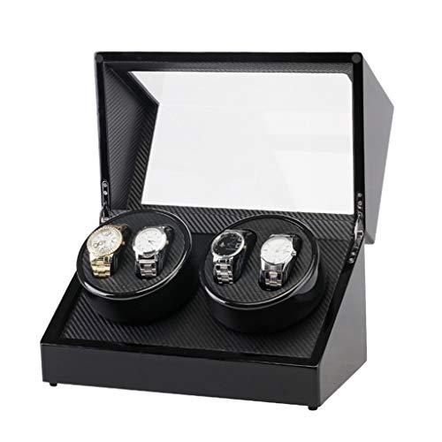 Cajas Enrolladoras De Reloj Automático 4 + 0 Recogedor Enrollador Automático De...