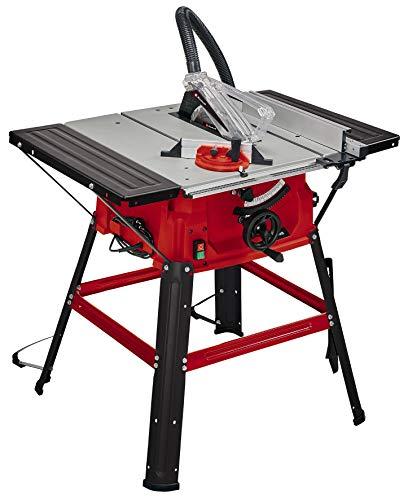 Einhell Tischkreissäge TC-TS 2025/2 U (max. 2.000 Watt, Verstellung für Höhe/Neigung des Präzisionssägeblatts, Parallelanschlag, Winkelanschlag +/- 60°, Auflagefläche l./r.)