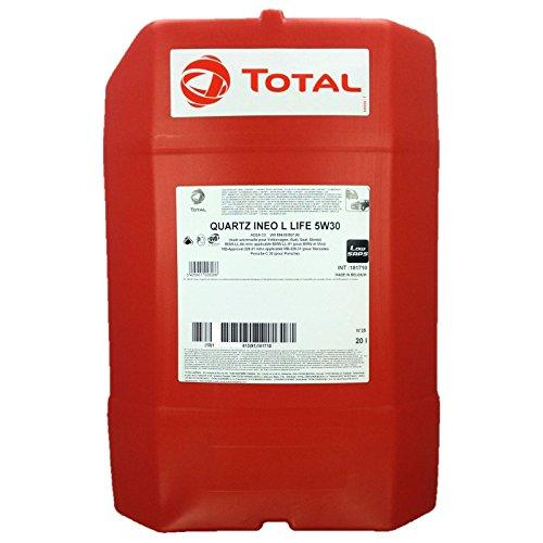 20 ltr. Total Quartz Ineo Longlife III 5W-30 + Gratis Ölwechselanhänger