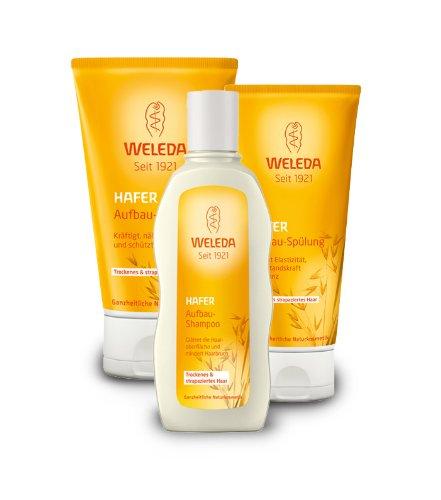 Weleda Hafer-Aufbau-Set für strapaziertes Haar