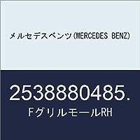 メルセデスベンツ(MERCEDES BENZ) FグリルモールRH 2538880485.