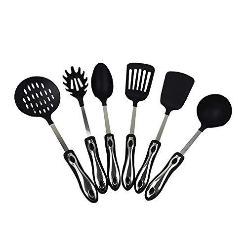 YWSZJ Juego de Utensilios de Cocina Utensilios de Cocina antiadherentes Utensilios de Cocina Cuchara Espátula Cucharón Batidores de Huevos Herramientas Gadget Accesorios