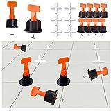 GmeDhc 50 Piezas sistema de nivelación de baldosas,...