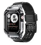Clayco Funda Apple Watch Band 44mm, [Vertex] Case Provee Ultra proteccion y es resiste a...