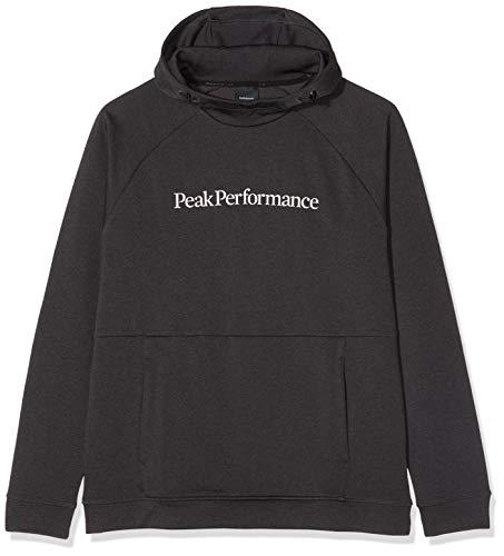 Peak Performance Pulse Mantello Medio, da Uomo, Uomo, G57950042, Grigio Scuro mélange, XL