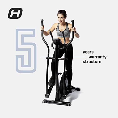 BT BODYTONE - DE20 - Bicicleta Eliptica Profesional para Fitness en Casa - Display Led y Pulsómetro - Peso Máximo Usuario 110 kg