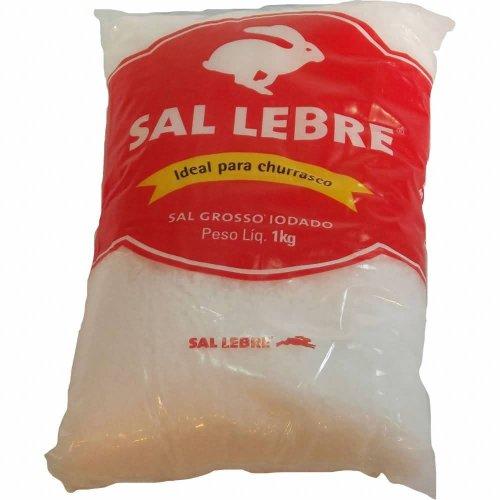 Thick Barbecue Salt - Sal Grosso para Churrasco - Lebre - 32.27oz. (1Kg)