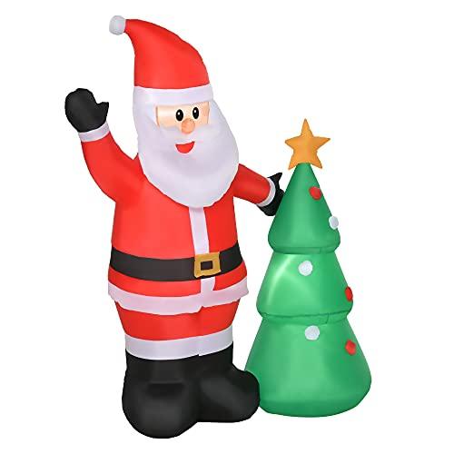 Decoración Navidad Exterior Papá Noel decoración navidad exterior  Marca HOMCOM