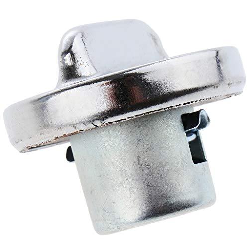 perfk Tankdeckel Tankverschluss Tankdeckel aus Aluminium für Zündapp Moped Mokick