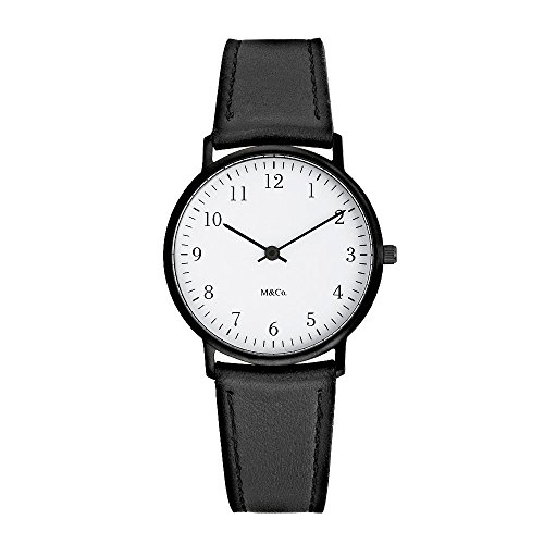 Bodoni Watch Black, 40mM by Tibor Kalman for Projects Watches