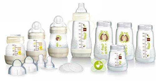 MAM Anti-Colic Self-Sterilising Bottle Starter Set