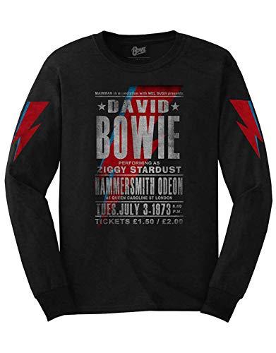 Unisex David Bowie Hammersmith Odeon 73 Sweatshirt