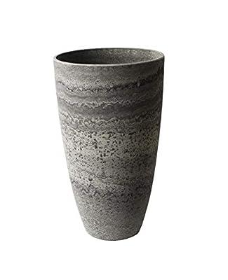 Algreen 43429 Curved Vase Planter, Marble