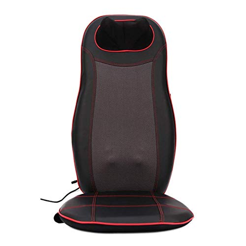 Yaeeee Cojín masajeador Shiatsu con Calor silla de masaje, completa Volver amasado o balanceo masaje de la vibración for el cuello, espalda, cintura alivio de la fatiga Puede ser utilizado en casa, of