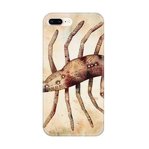 DIYthinker November Oktober Schorpioen sterrenbeeld Zodiac Apple iPhone 7/8 Telefoonhoesje Flexibel TPU Zacht Transparant Cover Gift, Bumper Hoes, iPhone 7/8 case
