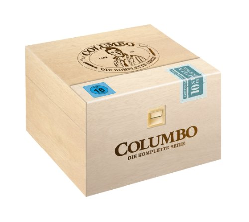 Columbo - Holzbox Season 1-10 (Limitiert / Exklusiv bei Amazon.de) (35 DVDs)