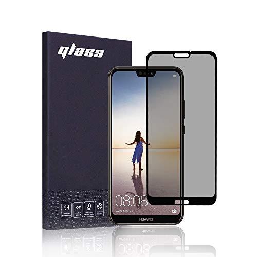 FiiMoo Privacy Pellicola Protettiva Compatible con Huawei P20 Lite, [Copertura 3D Completa] [Case Friendly] Privacy Protezione dello Schermo per la Anti-Spia con Huawei P20 Lite