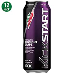 Dew Juice Caffeine Mtn Dew Kickstart is three awesome things combined Mtn Dew Kickstart is the perfect mix of DEW, real fruit juice, and just the right amount of kick Only 80 calories per can Includes 12 (16 ounce) cans of Mtn Dew Kickstart Midnight ...