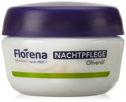 Florena Gesichtscreme Nachtpflege mit Olivenöl, 50ml