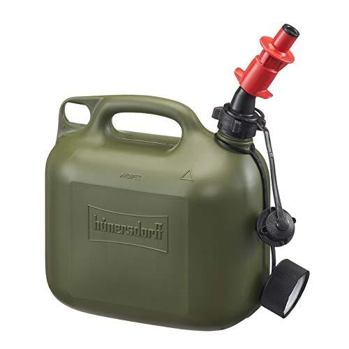 Profi Kraftstoff-Kanister 5L für Diesel, Benzin mit Sicherheits-Einfüllsystem einschließlich Füllstopp und integrierter Belüftung, Made in Germany