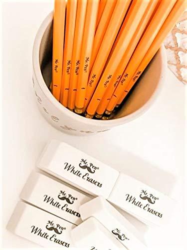 Mr. Pen- Erasers, Pencil Eraser, 12 Pack, White Erasers, Eraser, Erasers for Drawing, Eraser Pencil, Pencil Erasers, Erasers for Kids, Art Erasers for Drawing, Artist Eraser, White Eraser, Art Eraser Photo #4