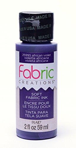 Mod Podge Fabric Creations - Tinten - Afrikanisches Violett, Synthetisches Material, Lila, 10.2 x 3.4 x 3.4 cm