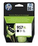 HP 957XL L0R40AE Negro, Cartucho de Alta Capacidad Original, de 3.000 páginas, para impresoras HP OfficeJet Pro serie 8200 y HP OfficeJet Pro All-in-One serie 8700
